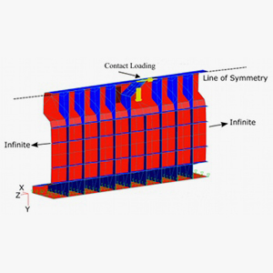Boundary element modelling of rail defects